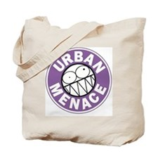 URBAN MENACE SMILEY Tote Bag