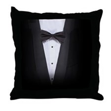 Tuxedo Throw Pillow