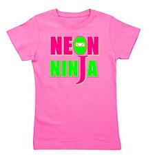 NEON NINJA GLOW PARTY Girl's Tee
