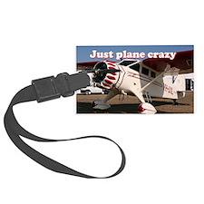 Just plane crazy: Stinson Aircra Luggage Tag
