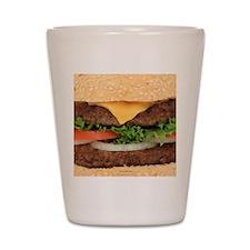 Funny Hamburger Shot Glass