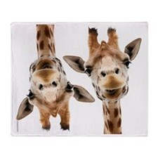 Hangover Movie Part 3 Giraffe Throw Blanket