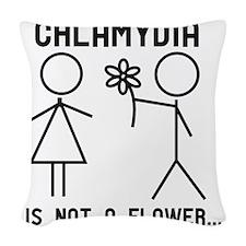Clamydia Woven Throw Pillow