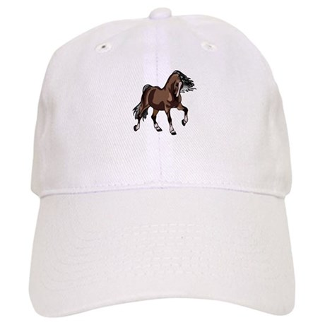Spirited Horse Dark Brown Cap