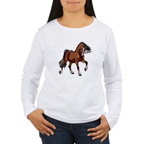 Spirited Horse Women's Long Sleeve T-Shirt