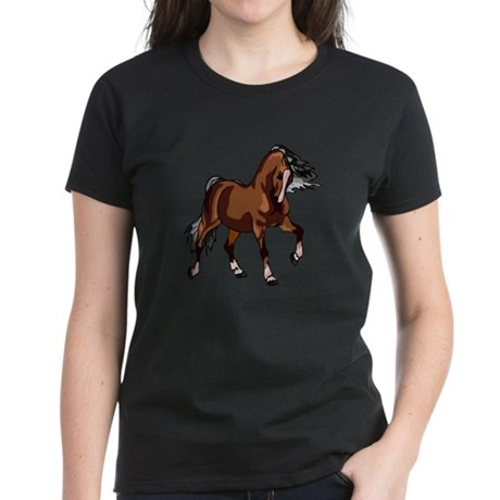 Spirited Horse Women's Dark T-Shirt
