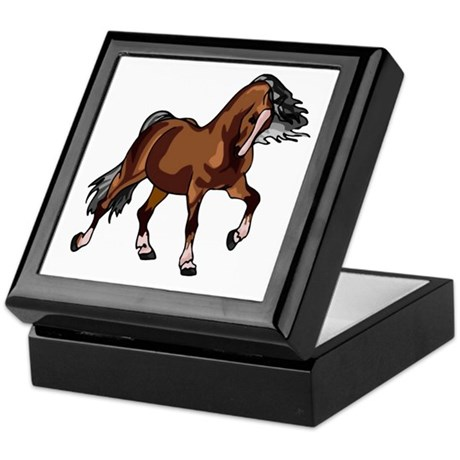 Spirited Horse Keepsake Box