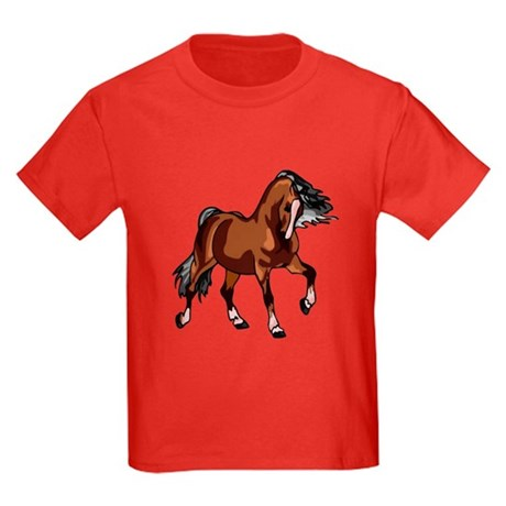 Spirited Horse Kids Dark T-Shirt