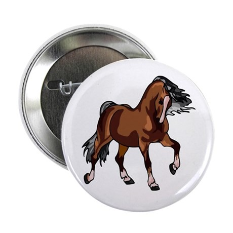 "Spirited Horse 2.25"" Button (10 pack)"
