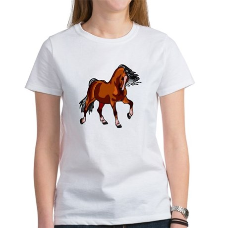 Spirited Horse Red Women's T-Shirt