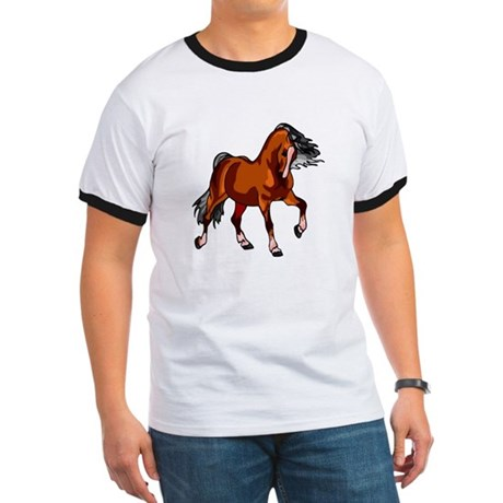 Spirited Horse Red Ringer T