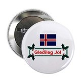 Iceland Gledileg Jol Button
