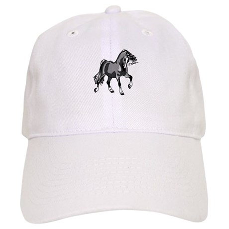Spirited Horse Gray Cap
