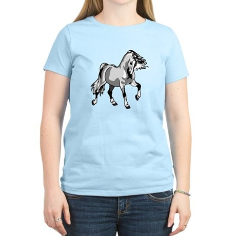 Spirited Horse White Women's Light T-Shirt