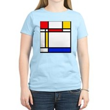 shower mondrian stripes T-Shirt