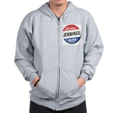 Re-Elect Mayor Jennings Zip Hoodie