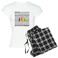 OT all over Pajamas