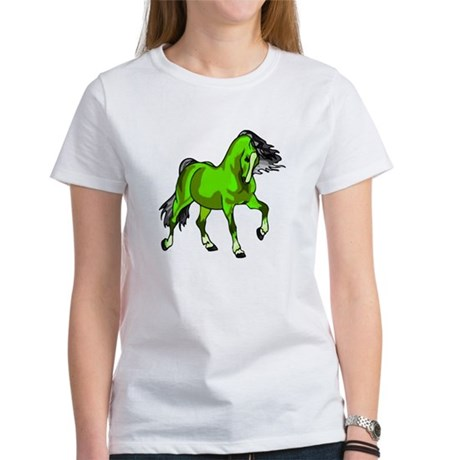 Fantasy Horse Lime Women's T-Shirt