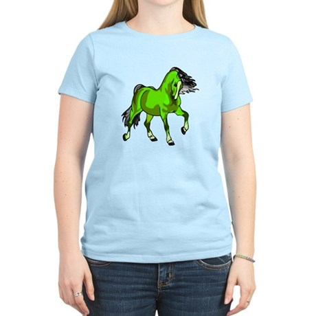 Fantasy Horse Lime Women's Light T-Shirt