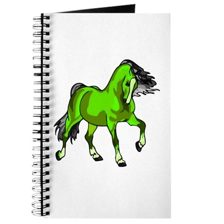 Fantasy Horse Lime Journal