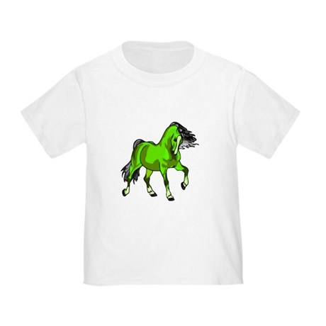 Fantasy Horse Lime Toddler T-Shirt