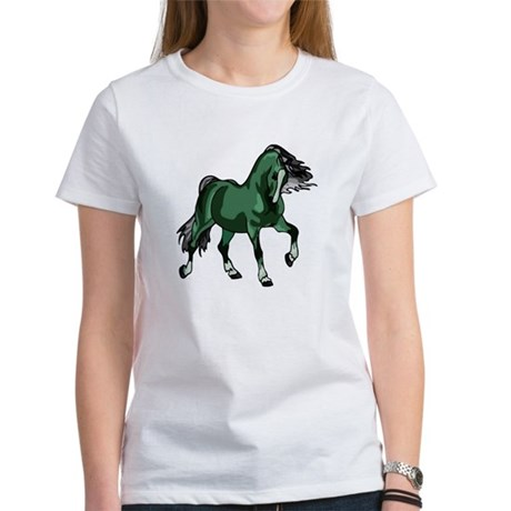 Fantasy Horse Green Women's T-Shirt