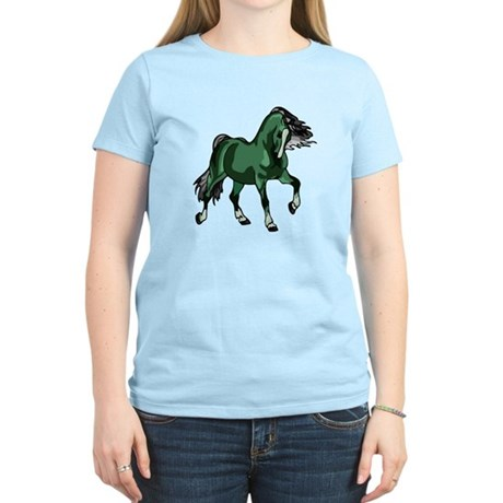 Fantasy Horse Green Women's Light T-Shirt
