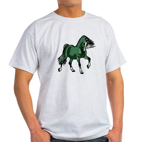 Fantasy Horse Green Light T-Shirt
