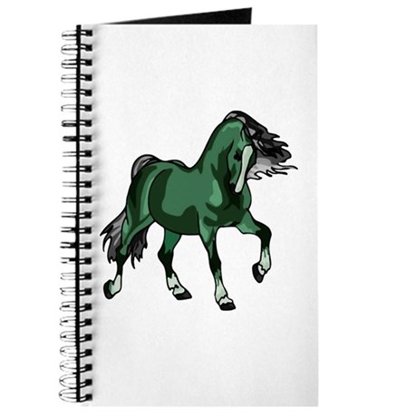 Fantasy Horse Green Journal