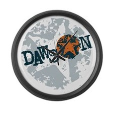 Dawson Band Star logo Large Wall Clock