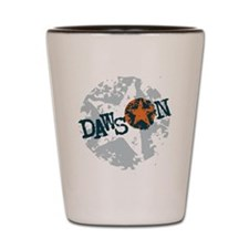 Dawson Band Star logo Shot Glass