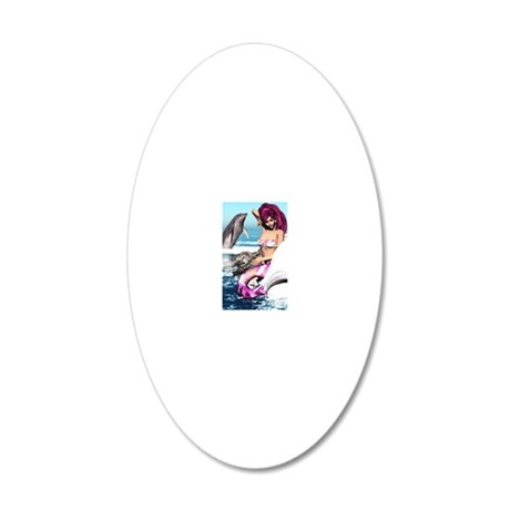 m_iphone_4_slider_case 20x12 Oval Wall Decal