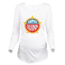 Super Quinn Long Sleeve Maternity T-Shirt
