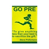 GO PRE &quot;The Gift&quot; Rectangle Magnet