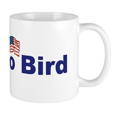 Whacko Bird with flag light bump Mug