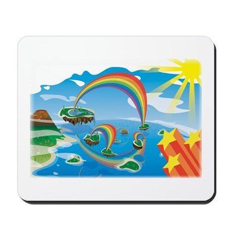 Rainbow Islands Mousepad