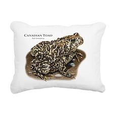 Canadian Toad Rectangular Canvas Pillow
