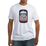 Columbus Police Fitted T-Shirt