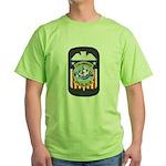 Columbus Police Green T-Shirt