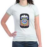 Columbus Police Jr. Ringer T-Shirt