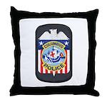 Columbus Police Throw Pillow