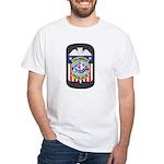 Columbus Police White T-Shirt