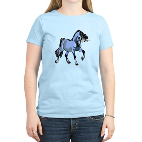 Fantasy Horse Light Blue Women's Light T-Shirt