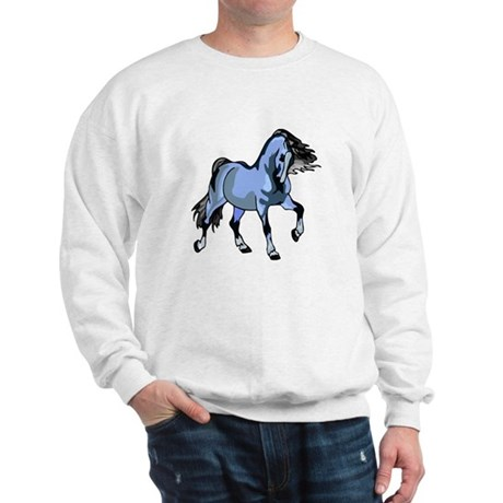 Fantasy Horse Light Blue Sweatshirt
