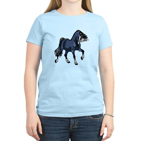 Fantasy Horse Blue Women's Light T-Shirt