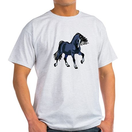 Fantasy Horse Blue Light T-Shirt