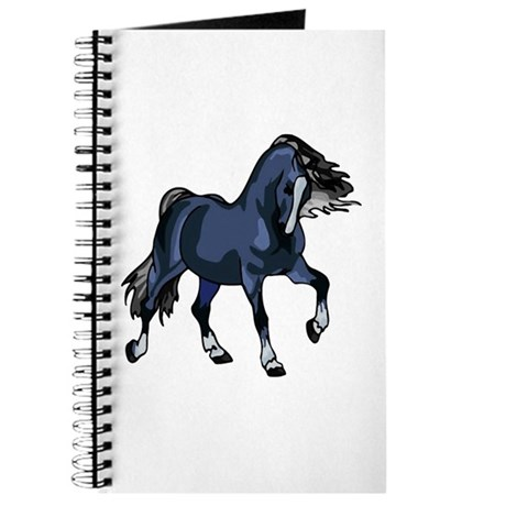 Fantasy Horse Blue Journal
