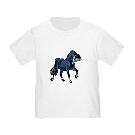 Fantasy Horse Blue Toddler T-Shirt
