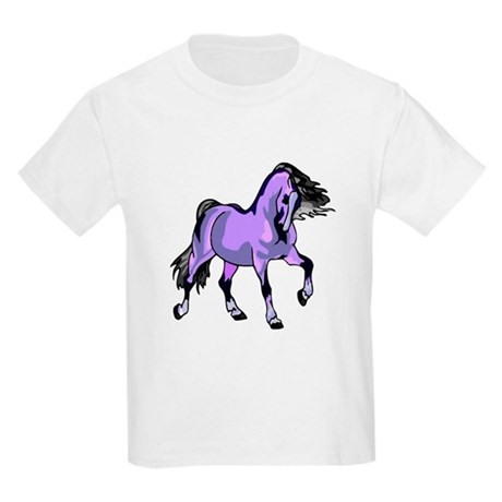 Fantasy Horse Lilac Kids Light T-Shirt