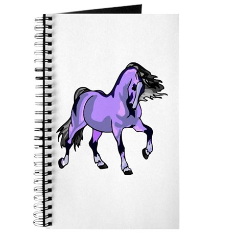 Fantasy Horse Lilac Journal